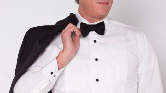 Formal events happen. Own a tuxedo.