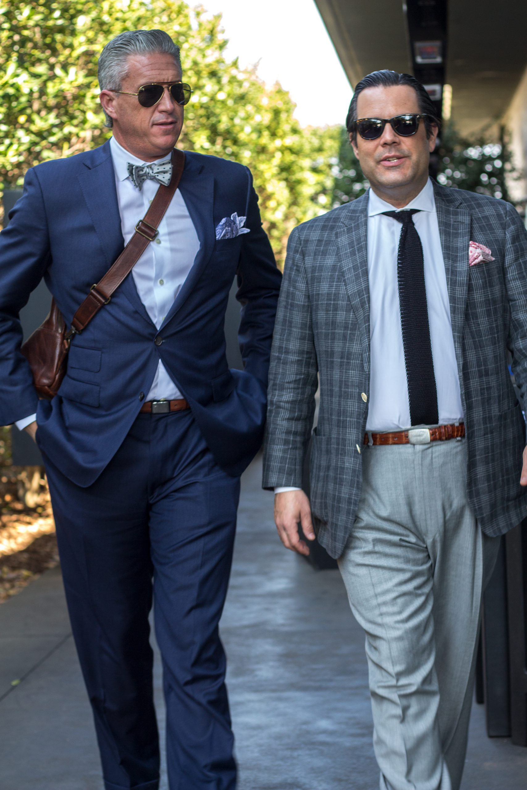 Dressing well is, in part, developing a personal style.