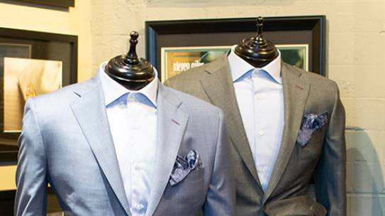Without a tie, wear a pocket square…detail matters